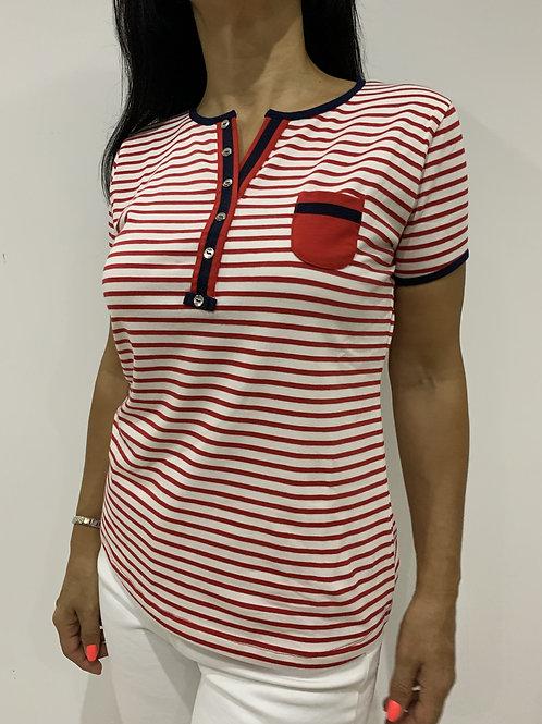 T-shirt com bolso NARPIN