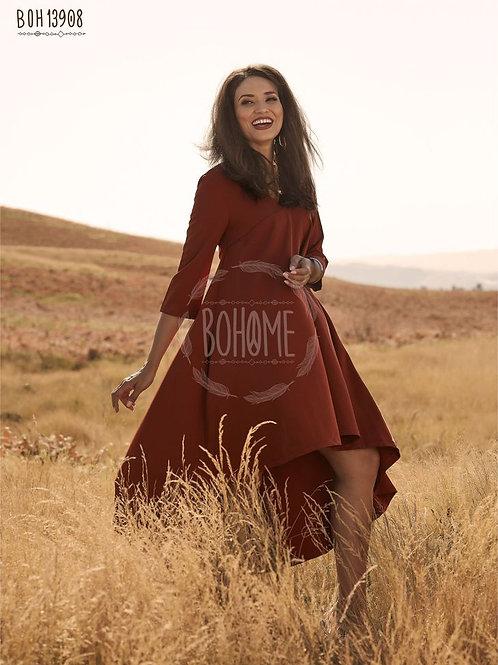 Vestido assimétrico BOHOME