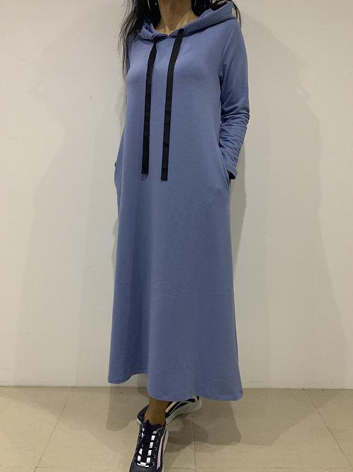 Vestido com capuz FAME