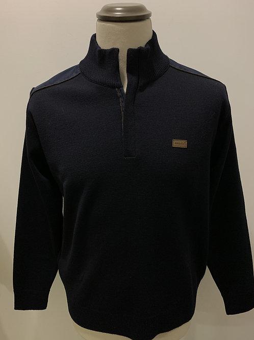 Sweatshirt com fecho MAQUELL