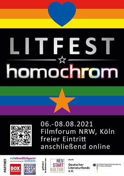 Litfest homochrom Lesung Köln Sabine Reifenstahl