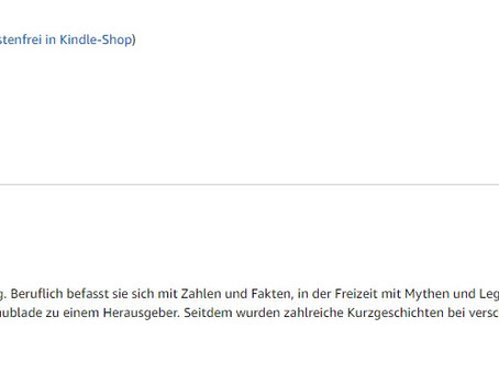 Platz 1 in zwei Kategorien bei Amazon