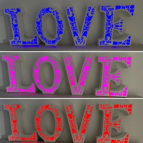 Lettre LOVE 45cm