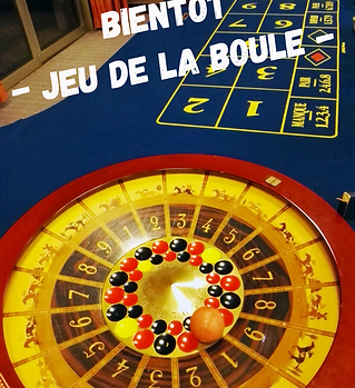 Table de casino jeu de la boule de Slysmile Location