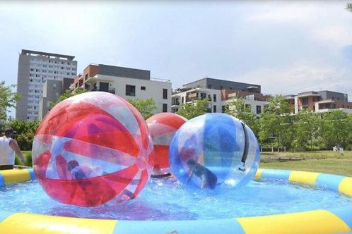 Water Ball + Piscine