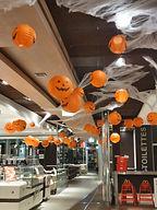 Décoration restaurant halloween