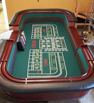 Table de casino craps de Slysmile Location
