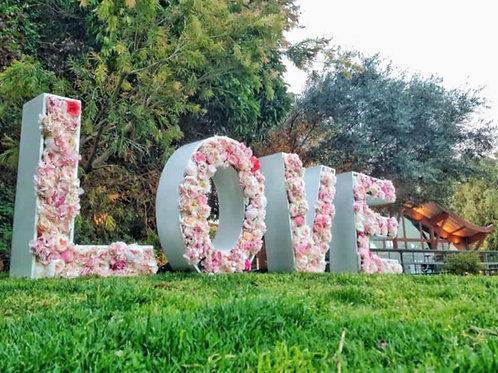Lettres Géantes LOVE 3D