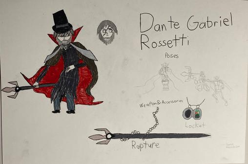Dante Rossetti Character