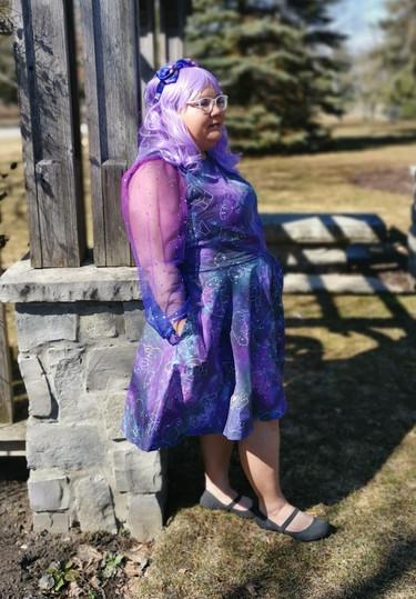 Galaxy Hippo Dress I