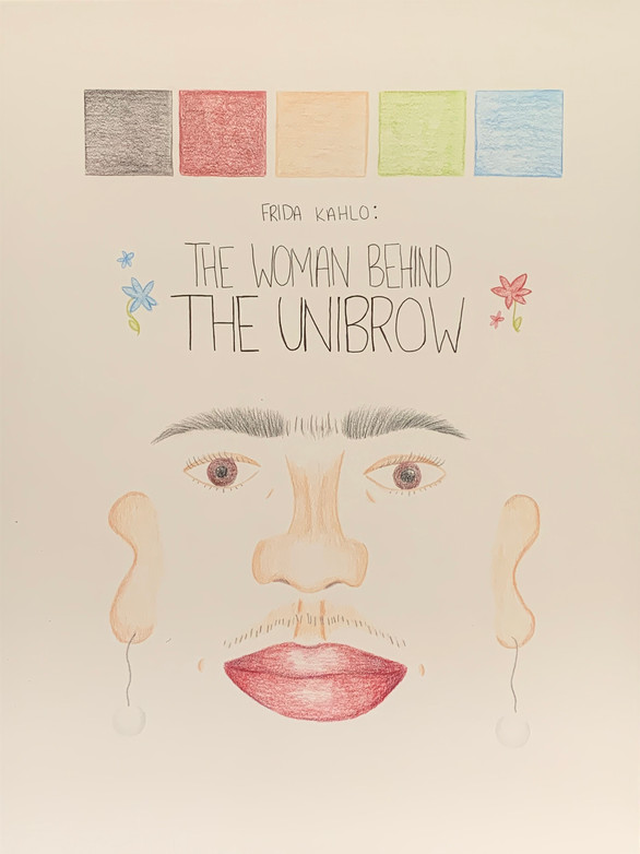 Frida Kahlo Exhibition Poster