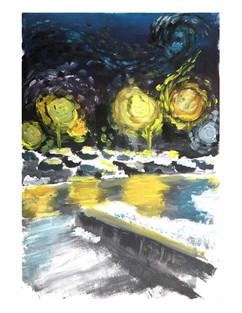 Van Gogh Painting of Conestoga