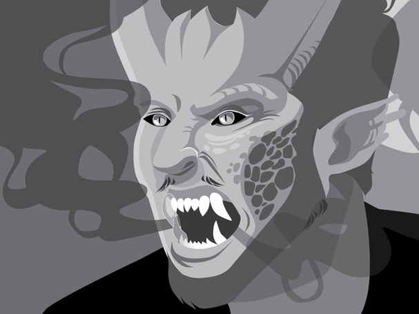 Digital Portrait: Tooth and Claw