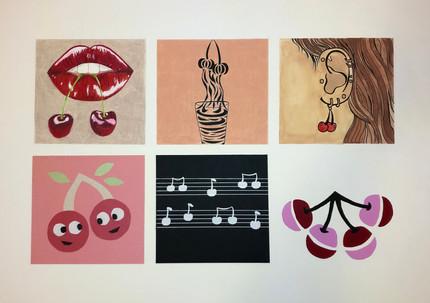 Six Spots Illustrations