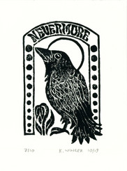 Art Deco Linocut