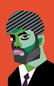 Vectorized Self Portrait