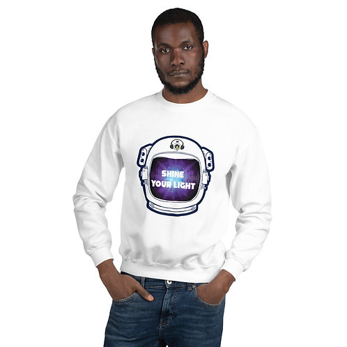 Shine Your Light: Unisex Sweatshirt