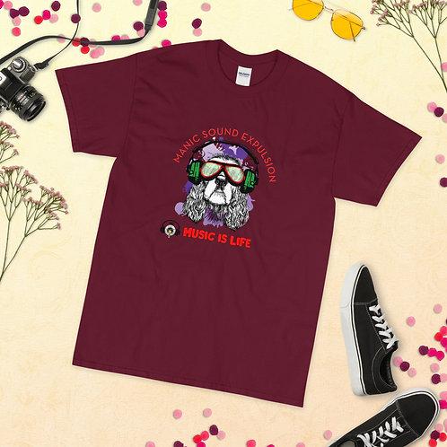 Dub Funk Dog Short Sleeve T-Shirt