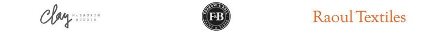 Clay farrow and ball raoul textiles