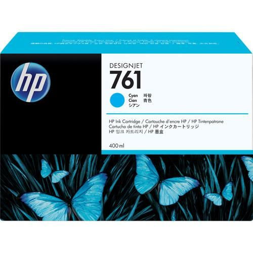 HP 761 400-ml Cyan Designjet Ink Cartridge For T7200