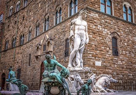 Neptunbrunnen in Florenz