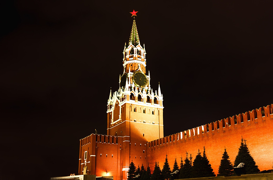 Moskau - Spasskaya Tower