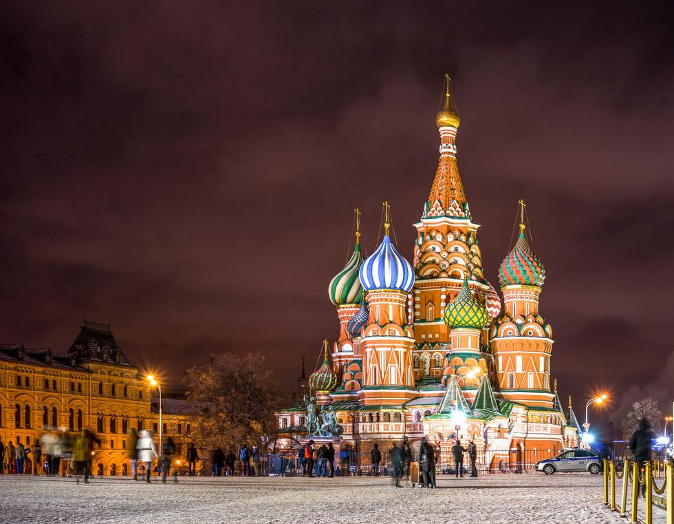 Moskau - Basilius-Kathedrale