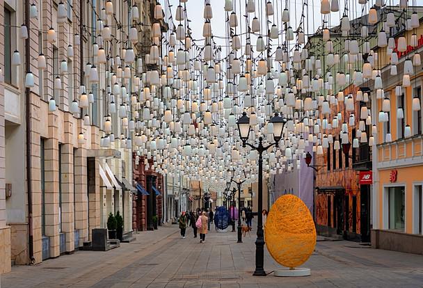 Ostern in Moskau