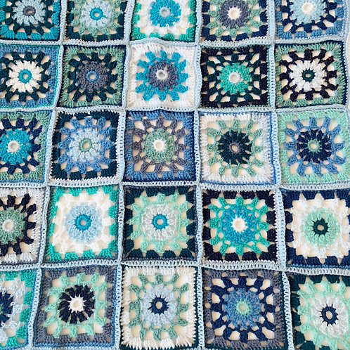 'All The Blues' Blanket