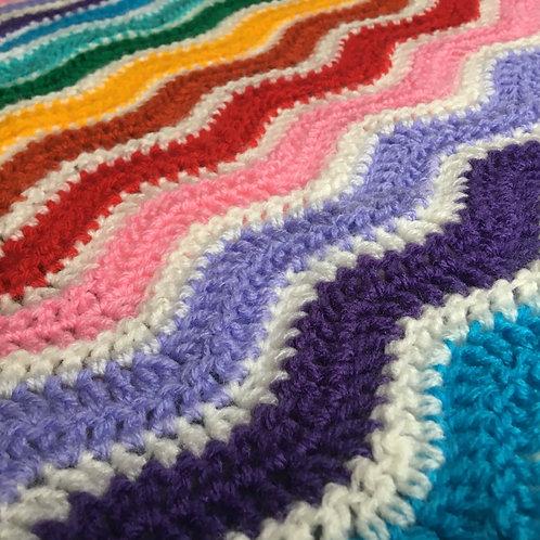 Custom Ripple Blanket