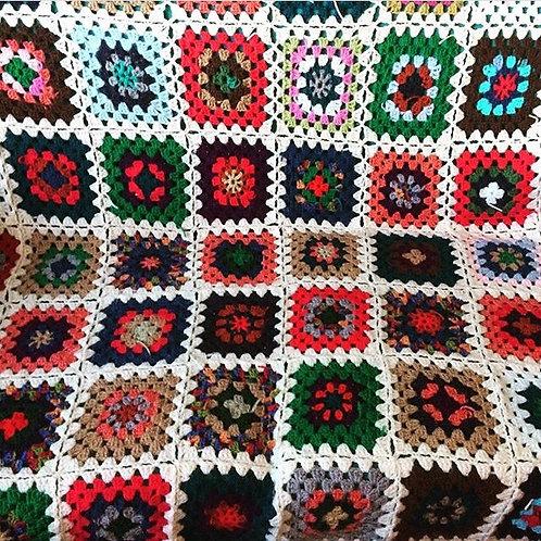 Custom Granny Square Blanket