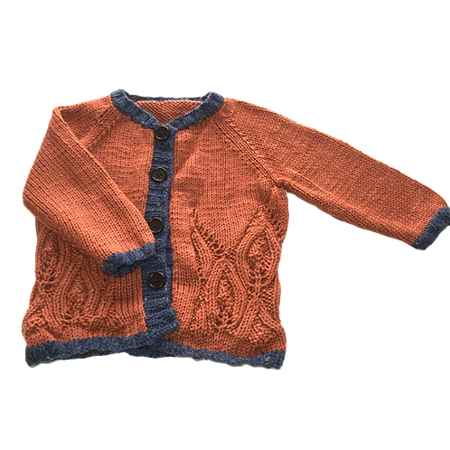 Autumn Leaf Cardigan