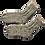 Thumbnail: Mens Tweed Classic Cable Socks
