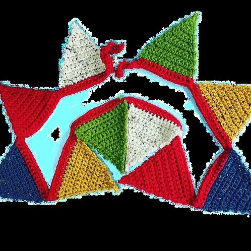 Custom Crocheted Bunting