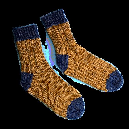Custom Classic Cable Socks