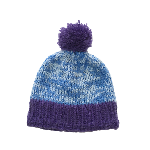 Custom Contrast Bobble Hat