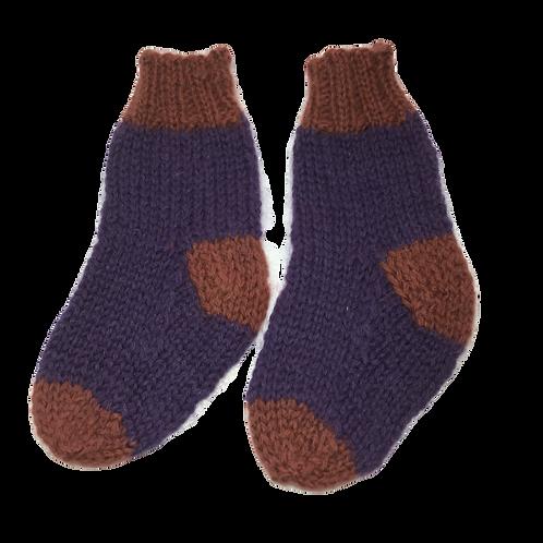 Kids Plum Socks