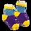 Thumbnail: Custom Hip to be Square Socks
