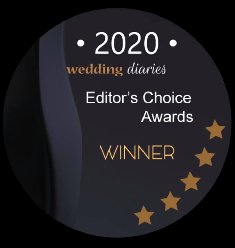 Wedding Diaries 2020 Award Winner