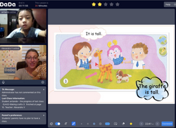 Online teaching with DaDaABC