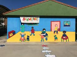 The playground at my school, Colegio Vicente Aleixandre