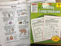Reading comprehension activities with second graders.