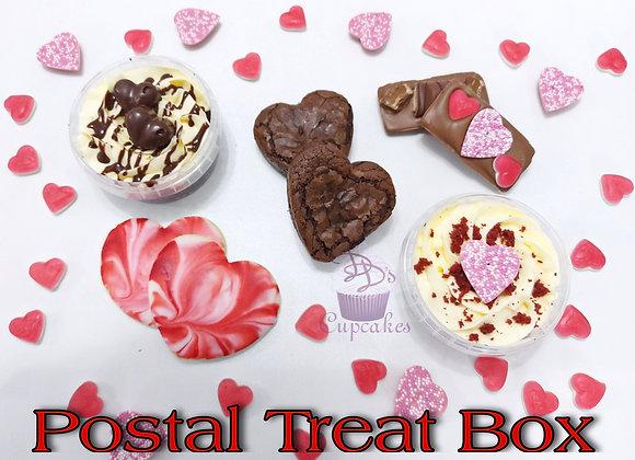 Postal Valentine's Day Treat Boxes