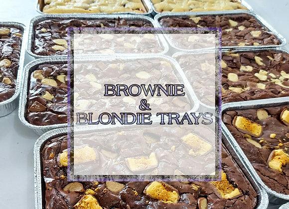 Postal - Brownie & Blondie Trays
