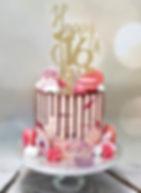 6 inch Pink Sprinkle Drip Cake.jpg