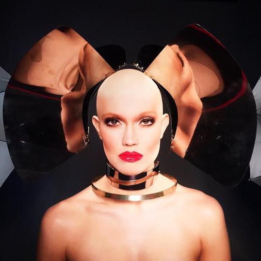 Assisted Hair/Makeup Artist: Scott Barnes Photographer: Marcelo Cantu Leesa Simone: Applied the Bald Cap