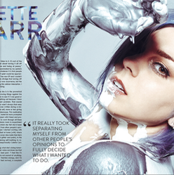 Colette Carr - Hair and Makeup for Rogue Magazine