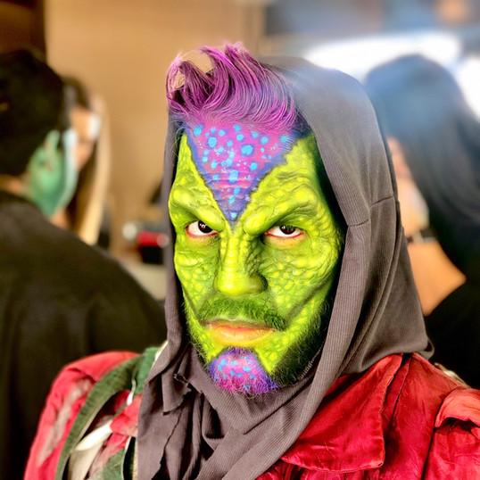 Ozuna - Latin Grammy's Award Performance  Co-Makeup Artist: Greg Lightner