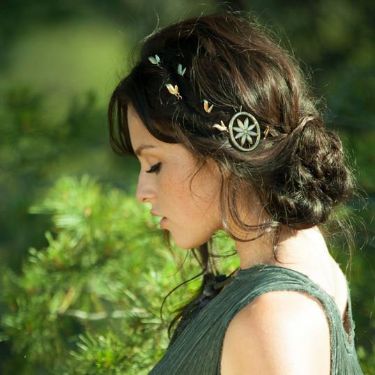 Bobby Pin Jewelry Ad Campaign Makeup: Armee Jacob Hair: Leesa Simone  Photographer: Jihanne Tatanaki