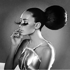 Assisted Makeup Artist: Scott Barnes Hair: Frank Galasso Photographer: Marcelo Cantu